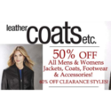 LeatherCoatsEtc Coupons 2016 and Promo Codes