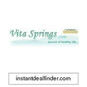 VitaSprings.com Coupons 2016 and Promo Codes